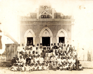 templo central no ano de 1932